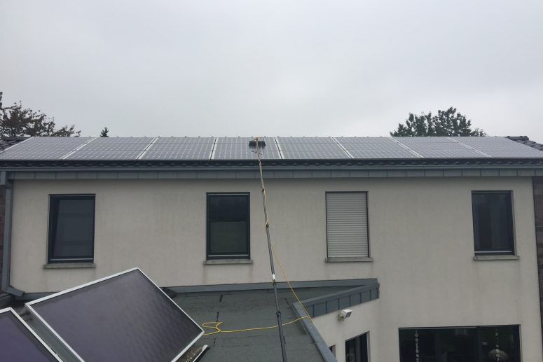 Blitz saubere Photovoltaik