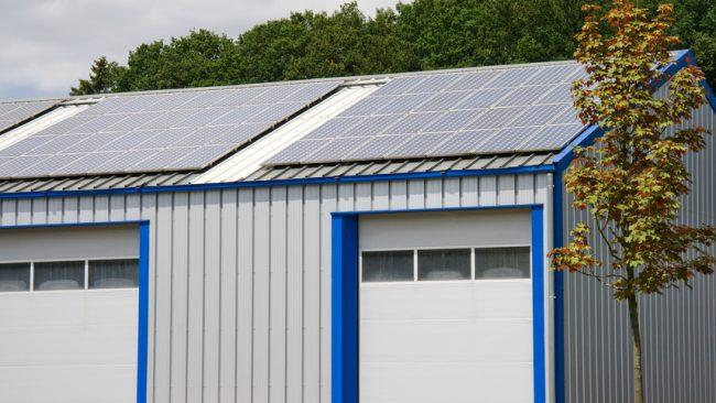 Gewerbliche Photovoltaik