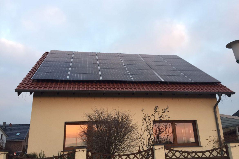 10 kWp Photovoltaik